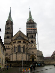 Bamberger Dom im September 2014.
