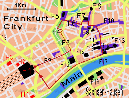 stadtplan frankfurt am main walter vun de palz. Black Bedroom Furniture Sets. Home Design Ideas